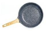 Сковорода Fissman Spotty Stone Ø24см с антипригарным покрытием FissEcoStone