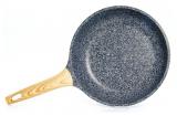 Сковорода Fissman Spotty Stone Ø26см с антипригарным покрытием FissEcoStone