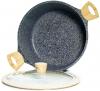 Кастрюля Fissman Spotty Stone 6.4л с антипригарным покрытием FissEcoStone