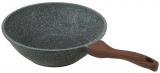 Сковорода-вок Fissman Dakjjim Ø30см с антипригарным покрытием Ilag Granistone