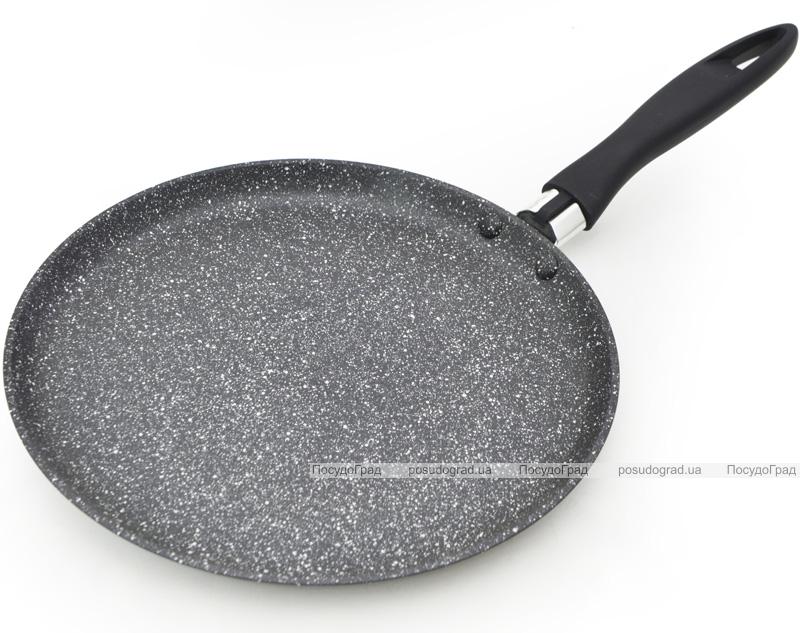 Блинная сковорода Fissman Fiore Ø24см индукционная с мраморным антипригарным покрытием