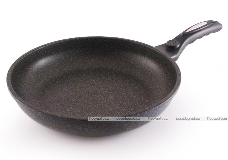 Сковорода Fissman MEGA Ø26см литой алюминий с мраморным антипригарным покрытием