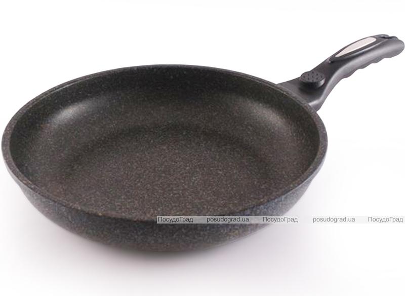 Сковорода Fissman MEGA Ø28см литой алюминий с мраморным антипригарным покрытием