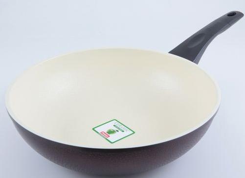 Сковорода глубокая Fissman Olympic Ø28см с керамическим антипригарным покрытием
