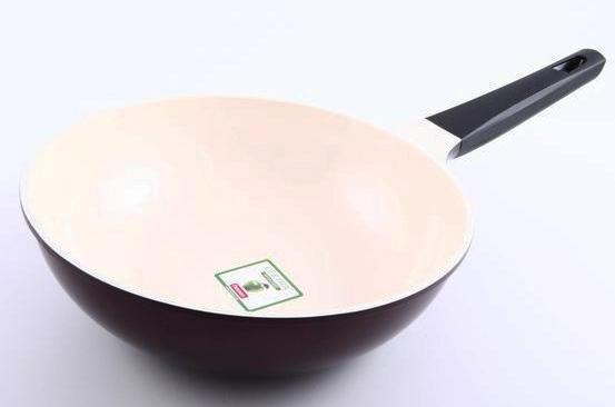 Сковорода глибока Fissman Olympic Ø26см з керамічним антипригарним покриттям