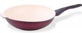Сковорода-вок Fissman Olympic Ø32см з керамічним антипригарним покриттям