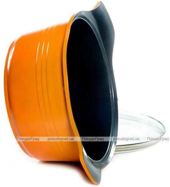 Кастрюля Fissman Assorty 4.4л алюминий с антипригарным покрытием
