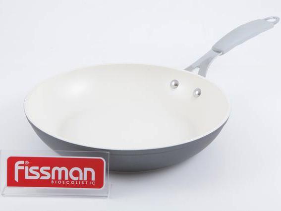 Сковорода Fissman Orlando Ø26см с керамическим антипригарным покрытием