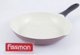 Сковорода Fissman LAZURITE Ø28см с керамическим антипригарным покрытием