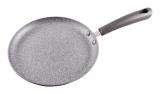 """Сковорода блинная Fissman Grey Stone Ø23см с антипригарным покрытием """"Platinum"""""""