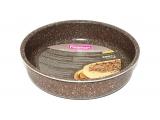 Форма для випічки Fissman Chocolate Breeze 35х25х6см, кругла