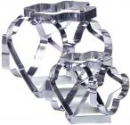 Набір 2 комбіновані форми Fissman Decorator для вирубки печива 6 в 1 - 12 трафаретів
