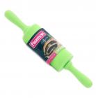 Скалка для мастики Fissman силиконовая Ø4.5х23см зеленая
