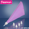Кондитерський мішок Fissman 39.5см силіконовий з 4 насадками
