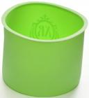 Форма силіконова FISSMAN для випічки паски Ø10х8см, зелена