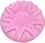 Форма для випічки Fissman Астра силіконова Ø24.5см, рожева