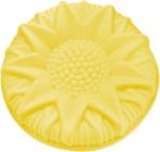 Форма для випічки Fissman Астра силіконова Ø24.5см, жовта