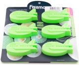 Форма для випічки Fissman Зелений Літачок силіконова 22х20см, 6 осередків