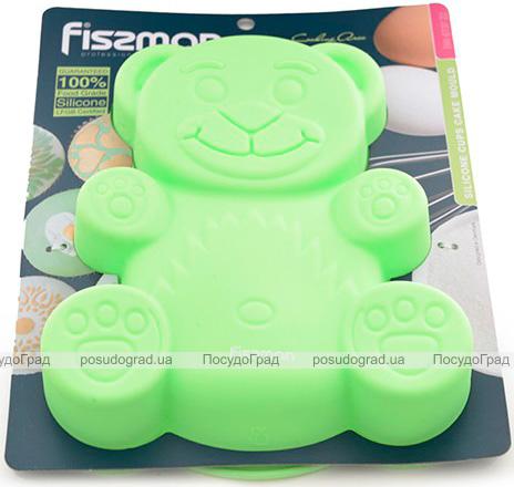 Форма для выпечки Fissman Медвежонок силиконовая 22х19см