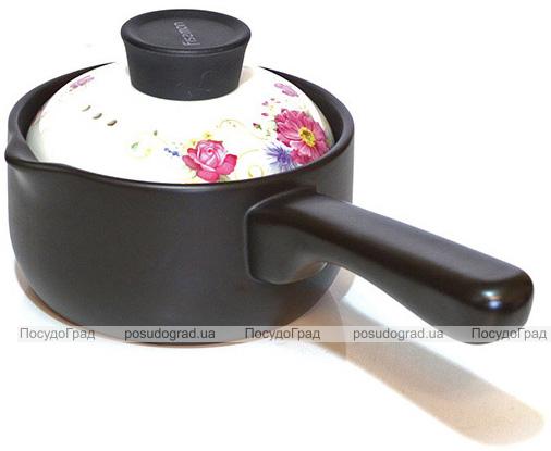 Ковш керамическийFissman Del Fuoco Flowers 1л, жаропрочная керамика