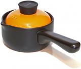 Ковш керамический Fissman Del Fuoco Orange 1л, жаропрочная керамика
