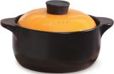 Кастрюля керамическая Fissman Del Fuoco Orange 4л, жаропрочная керамика