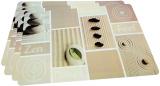 Набор 4 сервировочных коврика Fissman Zen Feel 43.5х28.5см, пластик