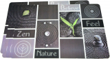 Набор 4 сервировочных коврика Fissman Nature 43.5х28.5см, пластик