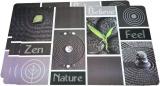 Набір 4 сервірувальних килимка Fissman Nature 43.5х28.5см, пластик