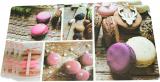 Набор 4 сервировочных коврика Fissman Macarons 43.5х28.5см, пластик