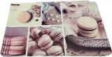 Набор 4 сервировочных коврика Fissman Chocolate Macarons 43.5х28.5см, пластик