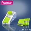 Терка-шинковка Fissman с контейнером, 4 сменных лезвия, с контейнером 1.5л