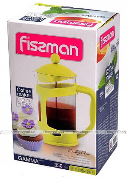 Френч-пресс Fissman Gamma 350мл + мерная ложка