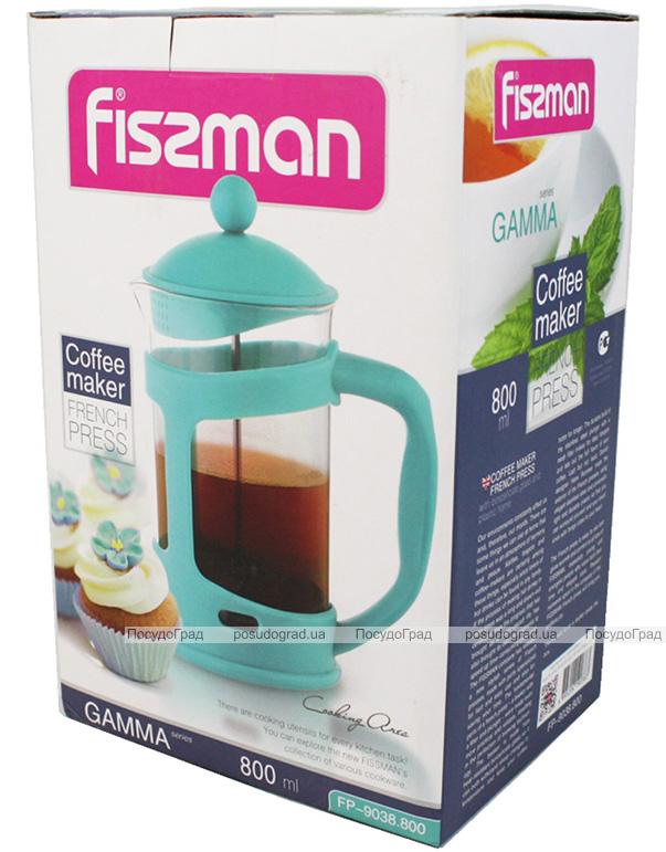 Френч-прес Fissman Gamma 800мл + мірна ложка