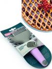 Роллер Fissman для фігурної нарізки тісту 5см (сіткою)