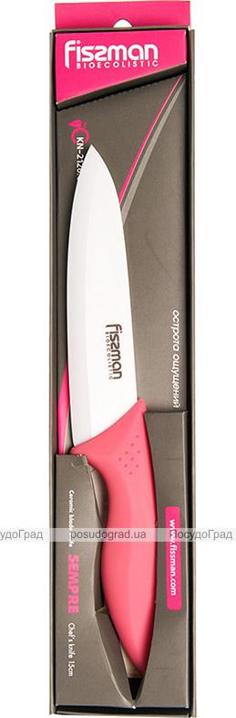 Нож поварской Fissman Sempre 15см керамический