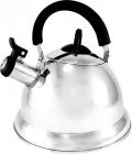 Чайник Fissman ARMAN 3л из нержавеющей стали и со свистком