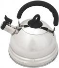 Чайник Fissman DEMDEU 2.3л з нержавіючої сталі і зі свистком