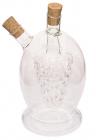 Емкость Fissman для масла 420мл и уксуса 45мл (2 в 1), стеклянная