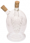 Ємність Fissman для олії 420мл та оцту 45мл (2 в 1), скляна