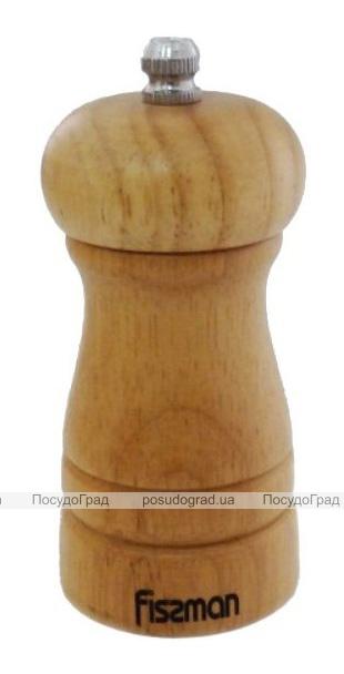 Мельница для специй (перцемолка) Fissman Spice 10х5см, деревянный корпус