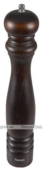 Мельница для специй (перцемолка) Fissman Spice 35см, темное дерево