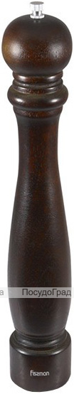 Мельница для специй (перцемолка) Fissman Spice 41см, темное дерево
