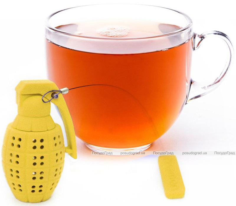 Ситечко силіконове Fissman Гранат для заварювання чаю