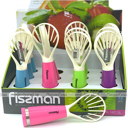 Слайсер Fissman для чистки дыни пластиковый 18см
