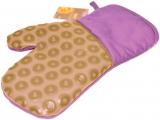 Кухонна рукавиця Fissman Lilac, бавовна з силіконовою вставкою