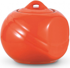 Сахарница керамическая Fissman Sunshine 350мл, оранжевая