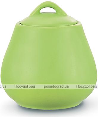 Сахарница керамическая Fissman Sunshine 600мл, светло-зеленая