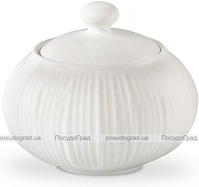 Сахарница Fissman Elegance White 250мл, фарфор