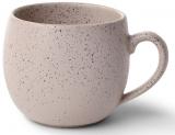 Кружка керамическая Fissman Liana 320мл, бежевый песок